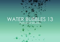 Free Water Bubbles Photoshop Brushes 13