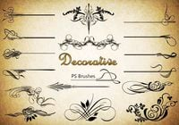 20 escovas decorativas PS abr. Vol.7