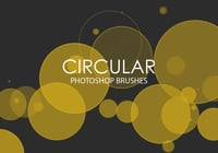Free Circular Photoshop Brushes