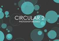 Circular libre Photoshop Brushes 2