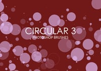 Free Circular Photoshop Brushes 3