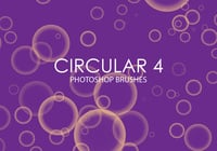 Free Circular Photoshop Brushes 4