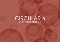 Free Circular Photoshop Brushes 6