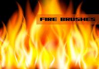 Escovas de fogo / chamas