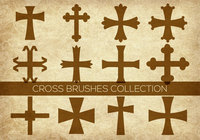 Religious Cross Brushes