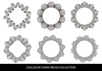 Guilloche Shapes Borstels
