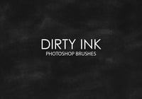 Free Dirty Ink Photoshop Brushes