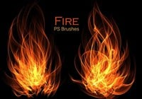 20 Fire PS Brushes ab. Vol.10