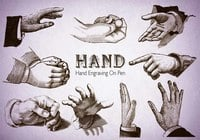 20 Hand PS Brushes abr.Vol.7