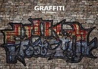 20 Graffiti PS Bürsten abr. Vol. 7