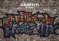 20 Graffiti PS Brushes ABR. vol.7