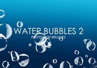 Free Water Bubbles Photoshop Bürsten 2