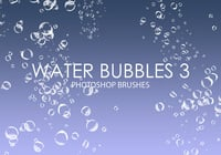 Free Water Bubbles Photoshop Brushes 3
