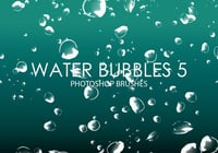 Free Water Bubbles Photoshop Bürsten 5