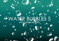 Gratis Waterbellen Photoshop Borstels 5