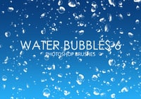 Gratis Waterbellen Photoshop Borstels 6
