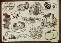 20 Thanksgiving PS Brushes abr. Vol.4