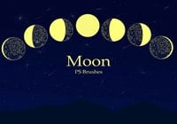 20 Moon Ps Brushes abr vol.3