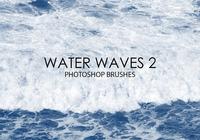 Gratis vattenvågor Photoshop borstar 2