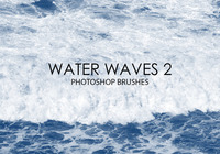 Free Water Waves Photoshop Brushes 2