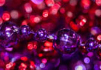 Bokeh Beads Background