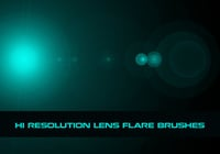Hi Res Lens Flare Brushes