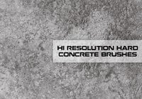Hallo Res Concrete Texture Brushes