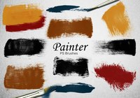 20 Painter PS Brushes abr.Vol.8