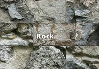20 Rock Texture PS Bürsten abr Vol.19