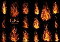 20 Fire PS Brushes abr.Vol.11
