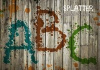 26 Alpha Splatter PS Brushes abr vol.7