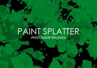 Gratis Paint Splatter Photoshop Borstar