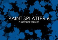 Free Paint Splatter Photoshop Bürsten 6