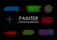 Free Painter Photoshop Brushes