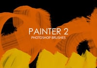 Painter livre Photoshop Brushes 2
