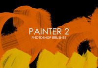 Free Painter Photoshop Brushes 2