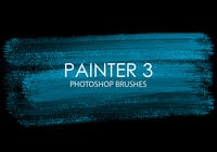Painter livre Photoshop Brushes 3