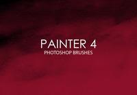 Pinceles de fotos gratuitas do pintor 4
