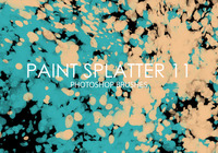 Free Paint Splatter Pinceles para Photoshop 11