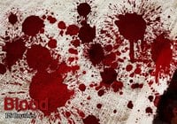 20 Blood Splatter PS Brushes abr vol.5