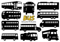 20 Bus Silueta Ps Brushes vol.4