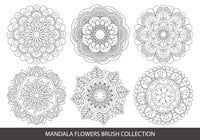 Mandala Flower Brush Collection