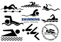20 swimming symbool PS Penselen ABR Vol.3