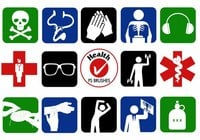 20 Health Symbol PS Penselen abr. Vol.5