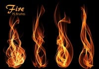 20 Fire PS Brushes ab. Vol. 12