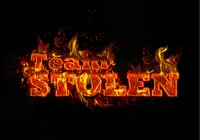 Team Stolen Red Fire Style