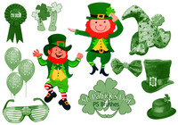 """20 """"St Patricks Day"""" PS Brushes abr.Vol.6"""