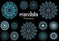 20 Mandala PS Brushes abr. Vol.8