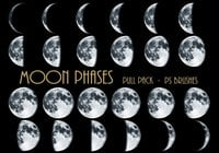 26 phases de la lune Ps Brushes abr Vol.5