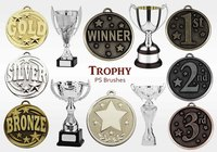 20 Trophy PS Brushes abr.vol.10